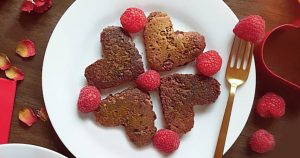 Vegan Chocolate Protein Pancakes